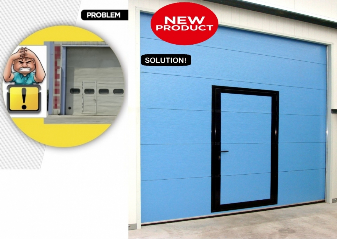 ROBUST PANEL CLASS 4 FOR SECTIONAL DOORS