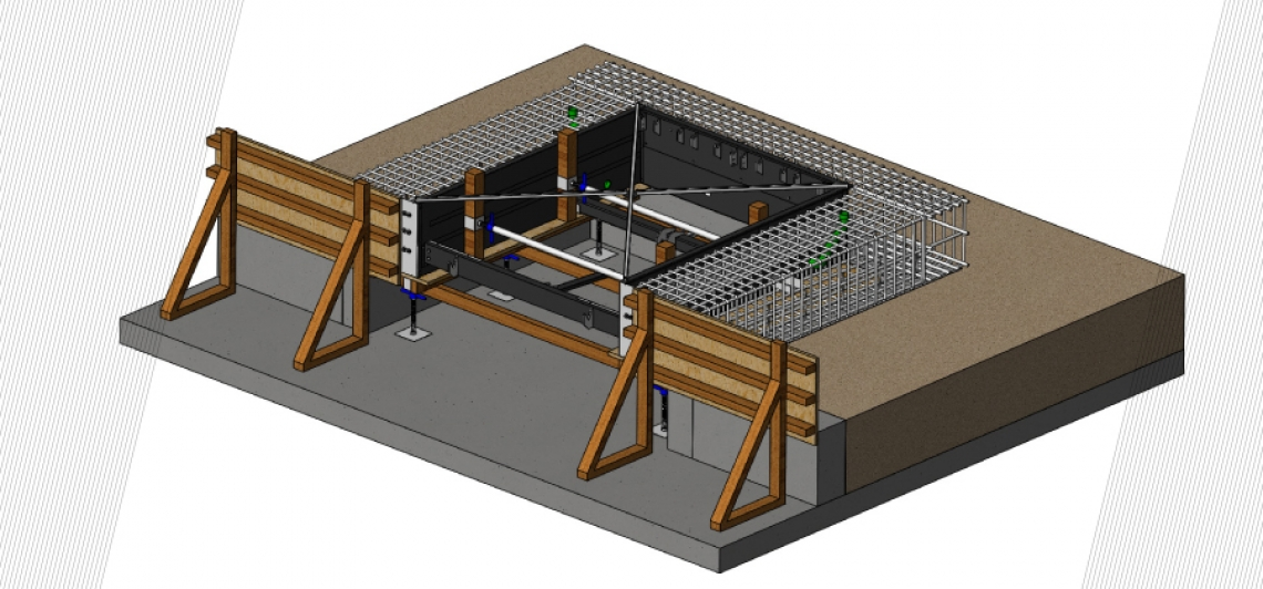 NEW FORMWORK OF MANUALLY OPERATED DOCK LEVELLER