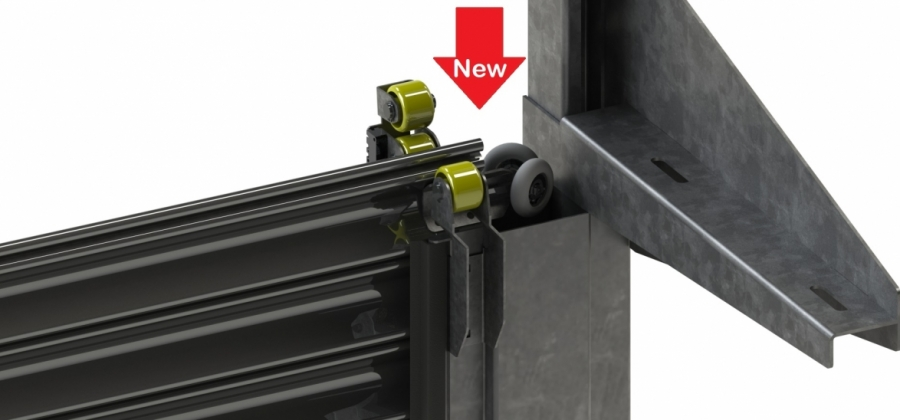 INNOVATIVE SYSTEM FOR SECURE MOTION OF ROLLER SHUTTERS THAT MINIMIZES WEAR AND INCREASES STRENGTH